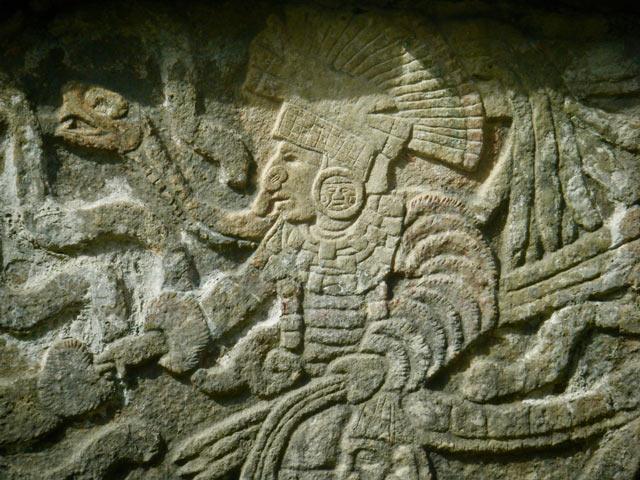 Chichen-Itza Mayan temples arts