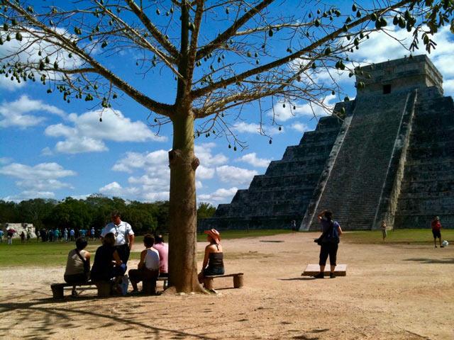 Chichen-Itza pyramid Kukulkan