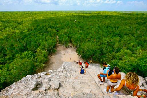 Coba Mayan Piramid