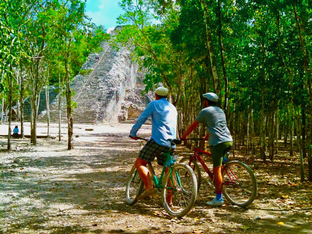 Coba rainforest bike