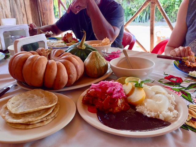 Coba Mayan Food
