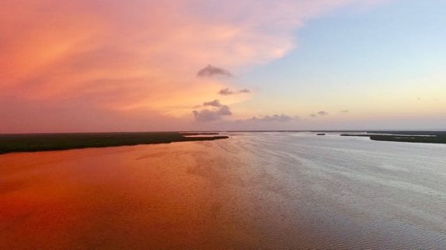 Sian Kaan biodiversity sunset