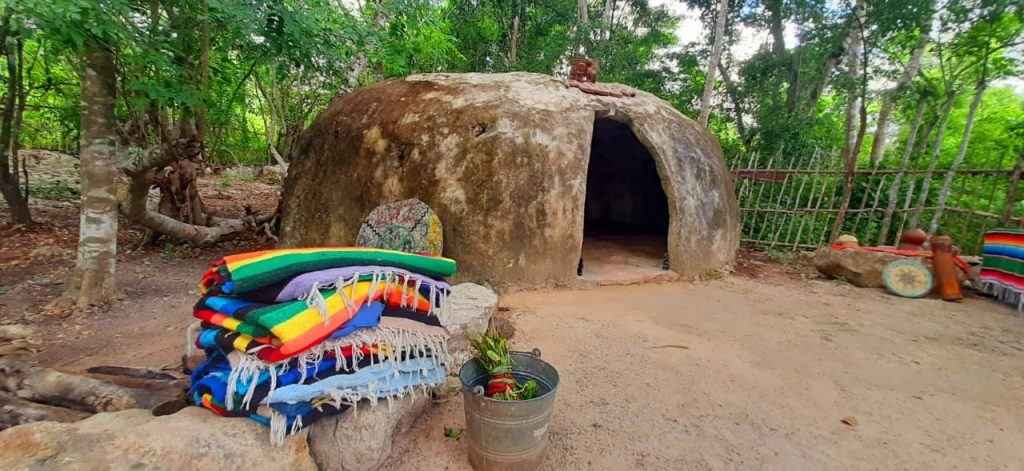 temazcal wellness experience tour riviera maya ceremony